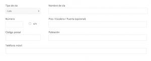 Datos de envío (2:3) - El Corte Inglés
