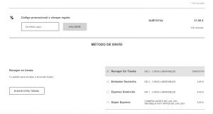 Envío y pago (2:2) - Oysho