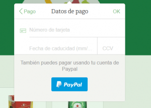 Datos de Pago - Comprea