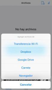 Agregar archivos - Video DL